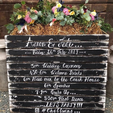 Order of the Day Pallet Display